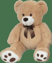 MAC TOYS Plyšový medvídek béžový, 60 cm