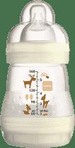 MAM Láhev anti-colic 160ml, 0+ měsíců – bílá