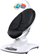 4MOMS NEW MamaRoo® Leżaczek Bluetooth - Classic black