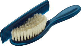 ROTHO® Comb&Brush - Grzebyk i szczotka do włosów Blue Pearl