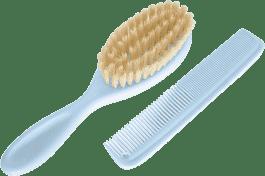 ROTHO® Comb&Brush - Grzebyk i szczotka do włosów Babyblue Pearl