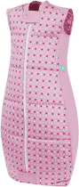 ERGOPOUCH Organic Cotton - Spací pytel Pink Polka Dots 2-12 m