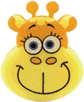 OSMOST Veselé hubky – Žirafa Terka