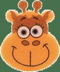 OSMOST Wesołe gąbeczki - Żyrafa Zosia