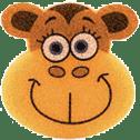 OSMOST Wesołe gąbeczki - Małpka Zuza