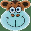 OSMOST Veselé houbičky - Opička Klára