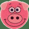 OSMOST Wesołe gąbeczki - Świnka Paja