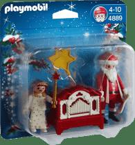 PLAYMOBIL Santa Claus i katarynka