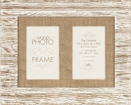 FOTORÁMEČEK Driftwood pro 2 fotografie 10x15 cm