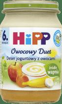 HIPP Deser jogurtowy z owocami BIO (160g)