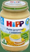 HIPP Puree jarzynowe z indykiem BIO (190g)