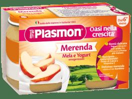 PLASMON Jogurt Jablčný 2x120g