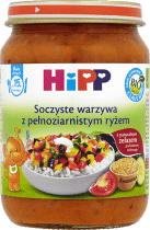 HIPP Soczyste warzywa z pełnoziarnistym ryżem BIO (250g)