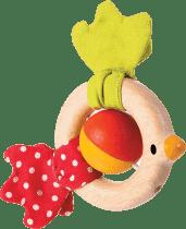 PLAN TOYS Chrastítko ptáček