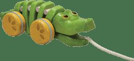 PLAN TOYS Krokodyl do ciągnięcia