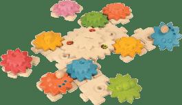 PLAN TOYS Puzzle ozubené kolieska