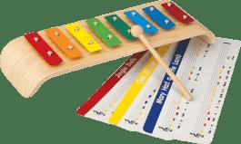 PLAN TOYS Melodický xylofón