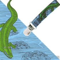 LULLALOVE Multifunkční skřipec- krokodýl