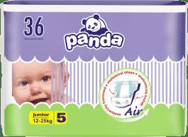 BELLA PANDA Junior 36ks (12-25 kg) - plienky pre deti
