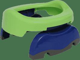 POTETTE PLUS 2w1 Składany nocnik turystyczny / Redukcja na WC – zielony / niebieski