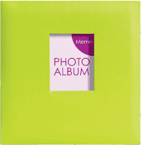 FOTOALBUM zelené Festival pro 200 fotografií 10x15 cm