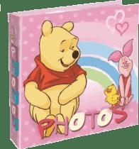 Album na zdjęcia Winnie the Pooh - 200 zdjęć (10 x 15cm) – Różowy