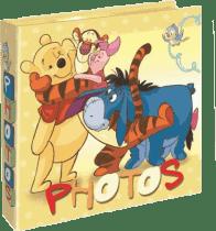 FOTOALBUM Winnie the Pooh 200 fotografií (10x15cm) – žltý