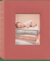 FOTOALBUM czerwony Love Baby na 100 fotografii 10 x 15 cm