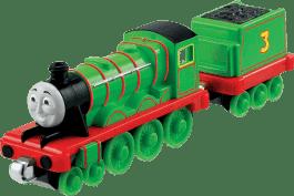 FISHER-PRICE Thomas & Friends Take-N-Play Duża lokomotywka Ast. Henry