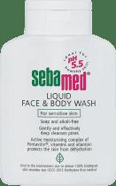 SEBAMED Mycí emulze na obličej a tělo, 200ml