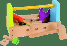 SIMBA Dřevěný box s nářadím
