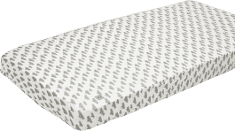 LODGER Prostěradlo Slumber Cotton do postýlky 70x140cm – Grey