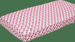 LODGER Plachta Slumber Cotton do postieľky 70x140cm - Rosa