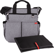 SKIP HOP Torba Duo Signature, heather grey