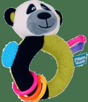 FIESTA CRAFTS Hrkálka s hryzátkom - Panda