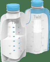 KIINDE Twist – Woreczki do przechowywania pokarmu 40 szt.