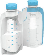 KIINDE Twist – Váčky na mateřské mléko 80ks 6pr