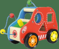 VILAC Drevená hračka - Drevené motorické auto