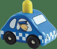 VILAC Drevené pískajúce policajné auto