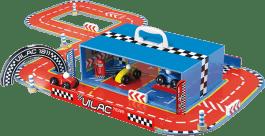 VILAC Tor wyścigowy z autami – w kuferku