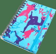 YUU MUUV Zápisník A5