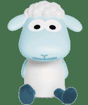 ZAZU Lampička na čtení ovečka FIN modrá
