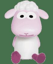 ZAZU Lampička na čtení ovečka FIN růžová