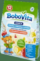 BOBOVITA Kaszka mleczno-ryżowa owocowo-waniliowa NSA(230g)