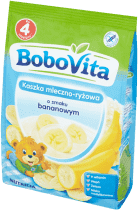 BOBOVITA Kaszka mleczno-ryżowa o smaku bananowym (230g)