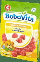 BOBOVITA Kaszka ryżowa o smaku malinowym (180g)