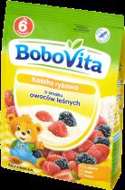 BOBOVITA Kaszka ryżowa o smaku owoców leśnych(180g)