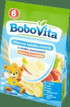 BOBOVITA Kaszka mleczna manna o smaku owocowym (230g)