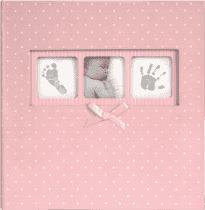 FOTOALBUM Baby Dot 10x15 / 200 foto, růžový