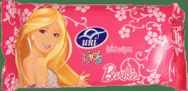 UNI Barbie 15 ks - vlhčené ubrousky
